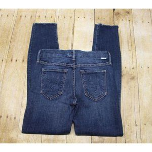 MOTHER Jeans Looker Ankle Fray Jeans girl crush 25